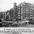 Zdjęcie z budowy kwartału umieszczone w Oberschlesien im Bild nr 44/1926