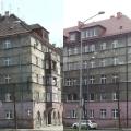 Strzelców Bytomskich 30b - przed i po remoncie