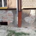 Ściana po przemurowaniu